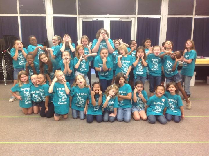 Crazy Choir Cats T-Shirt Photo