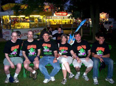 Hot Rod Anglicans At Champaign County Fair T-Shirt Photo