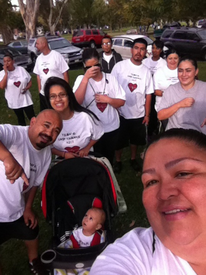 Heart Walk 2013 T-Shirt Photo
