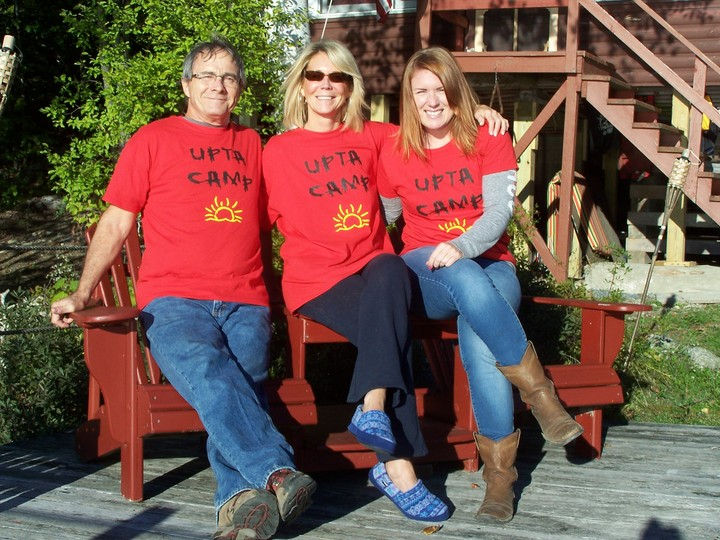 Friends At Upta Camp T-Shirt Photo