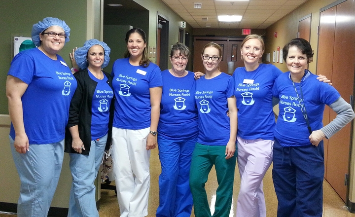 These Nurses Really Rock T-Shirt Photo
