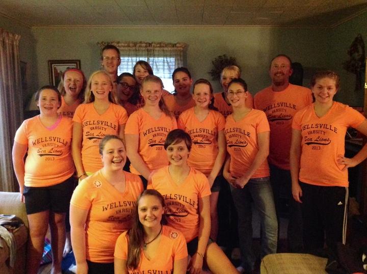 Wellsville Varsity Sea Lions T-Shirt Photo