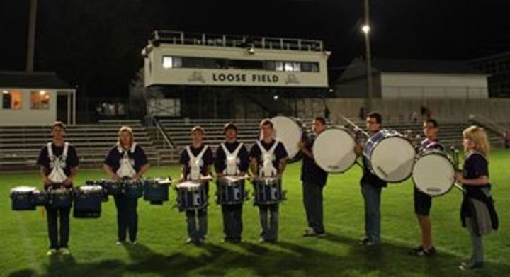 Napoleon's Drumline Sporting Their New Shirts! T-Shirt Photo