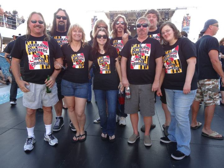 Maryland Monsters Of Rock Cruise 2013 T-Shirt Photo