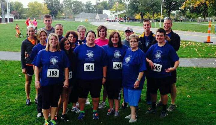 Tiffin Firefighters 5k 2013 T-Shirt Photo