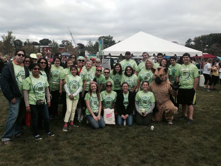 2013 Liver Life Walk, Fairfield County T-Shirt Photo