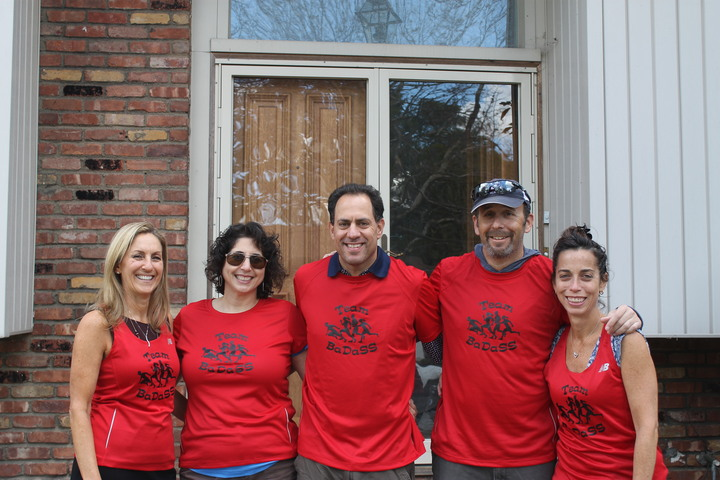 Team Ba Da Ss Getting Ready For Nyc Marathon T-Shirt Photo
