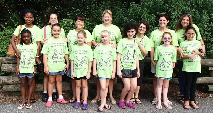 Girl Scouts Go Camping & Survive! T-Shirt Photo