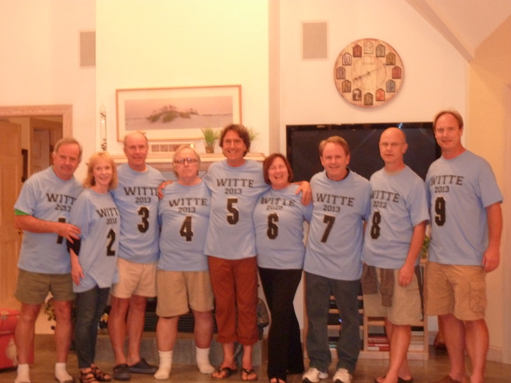 """9 Wittes In A Row"" T-Shirt Photo"