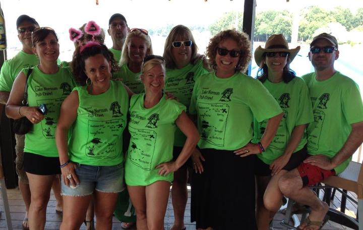 Lake Norman Annual Pub Crawl T-Shirt Photo