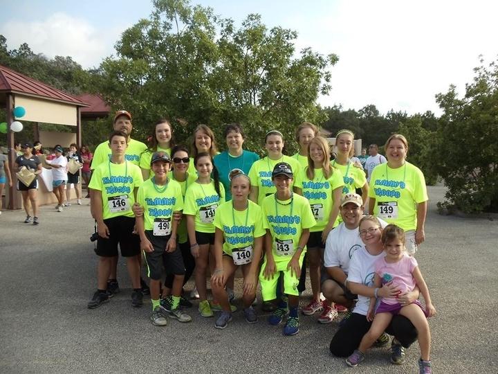 Tammy's Troops Ovarian Cancer Walk T-Shirt Photo