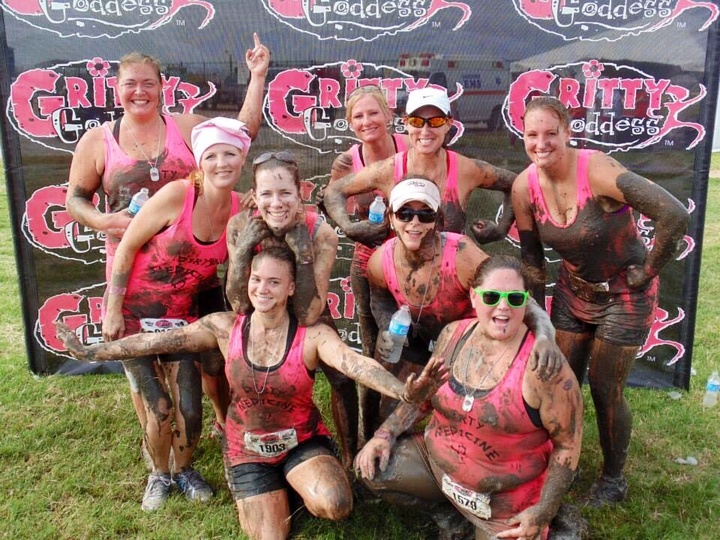 Dirty Medicine Finishes The Gritty Goddess 5 K Obstacle Course T-Shirt Photo