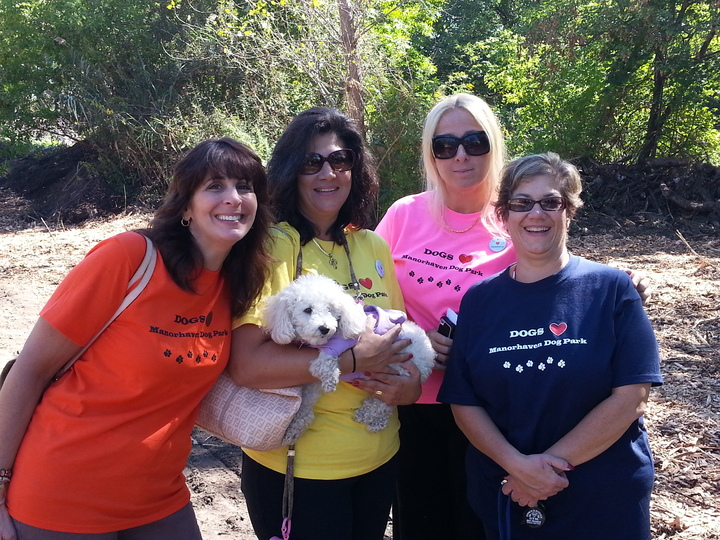Dog Pals At The Park! T-Shirt Photo