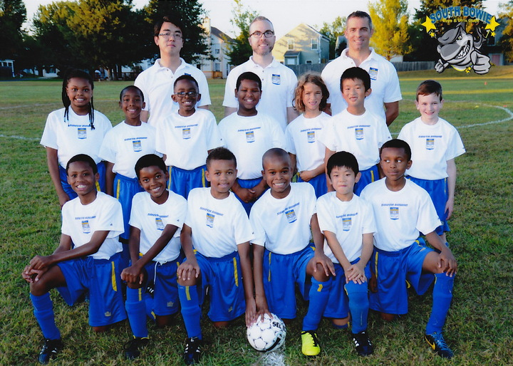 South Bowie Sharks U9 Soccer T-Shirt Photo