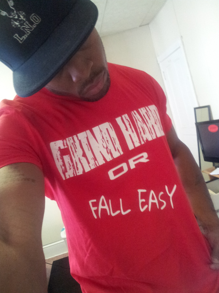 Grind Hard 4 Custom Ink T-Shirt Photo