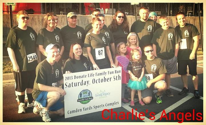 The Living Legacy Foundation Donate Life Family Run T-Shirt Photo