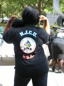 Njcu's Haitian Students Assoc. T-Shirt Photo