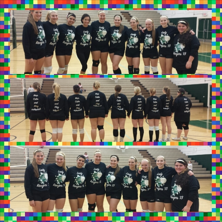 Selkirk Hs Keep Calm And Play Volleyball T-Shirt Photo