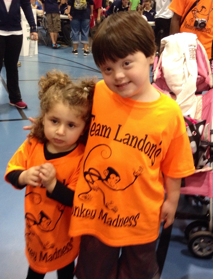 Team Landon's Monkey Madness! T-Shirt Photo