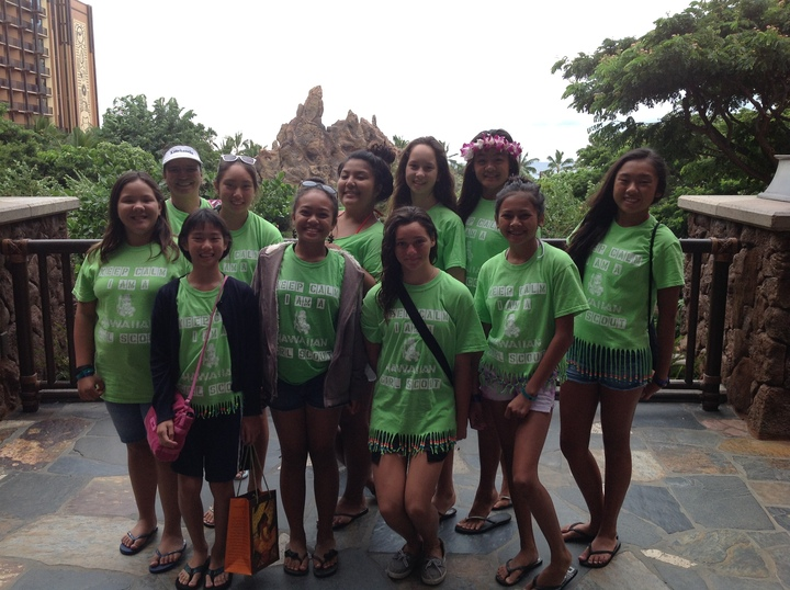 Troop #001 Disney's Aulani Resort Vacation T-Shirt Photo