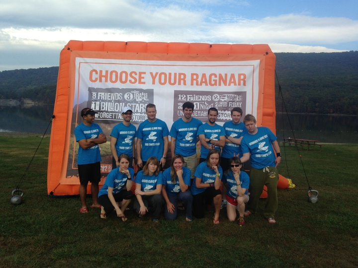Wounded Clams At The Dc Ragnar Relay T-Shirt Photo