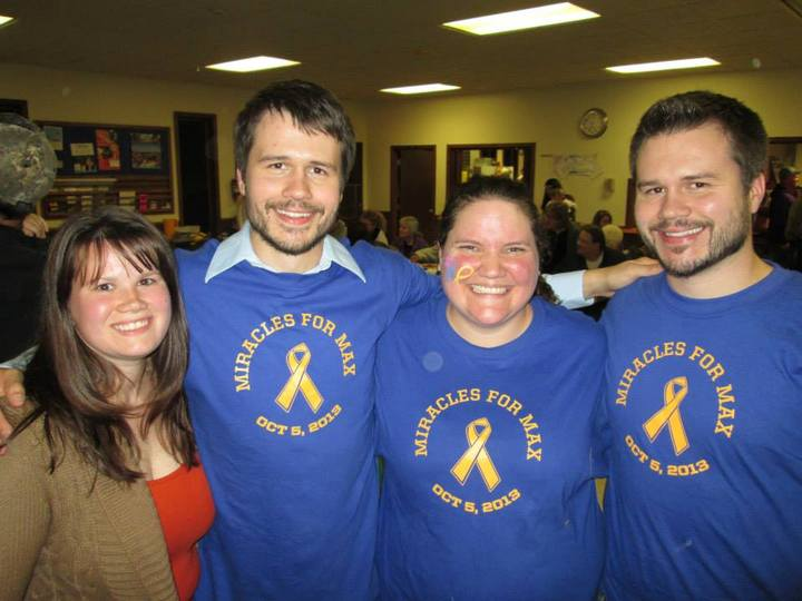 Max's Cancer Warriors T-Shirt Photo