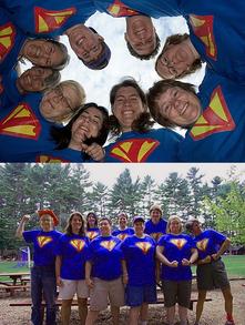 The Super V Girls T-Shirt Photo