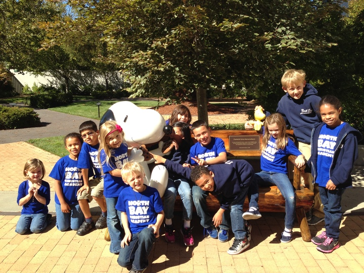 Field Trip To The Charles Schulz Museum! T-Shirt Photo