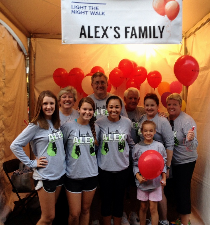 Light The Night Team Alex 2013 T-Shirt Photo