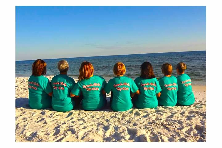 Beach Girls! T-Shirt Photo