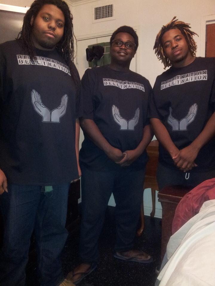 Belly Nation Stand Up T-Shirt Photo