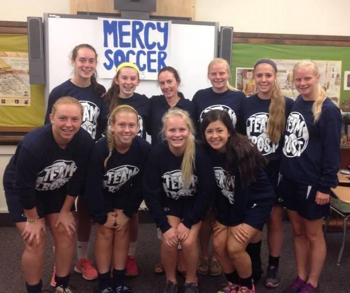 Mercy Soccer Team T-Shirt Photo