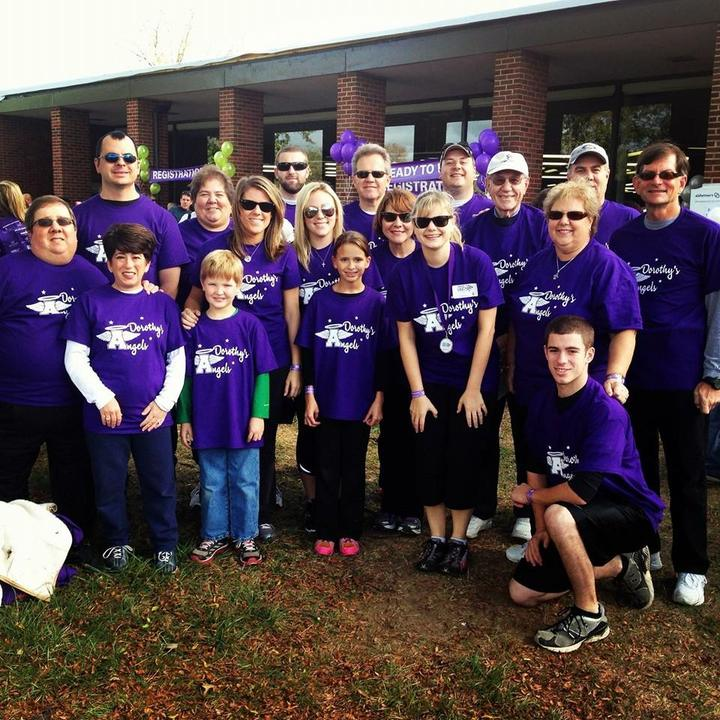Dorothy's Angels Walk To End Alzheimer's T-Shirt Photo