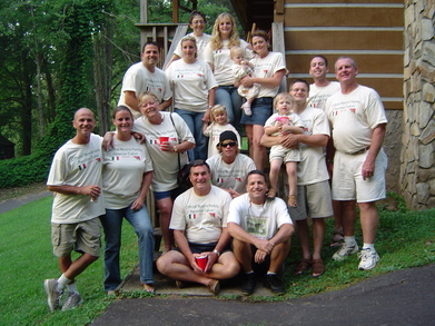 Nuccio Family Reunion T-Shirt Photo