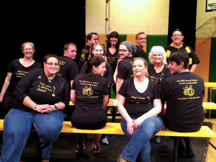 The 25th Annual Putnam County Spelling Bee At Pa Playhouse T-Shirt Photo