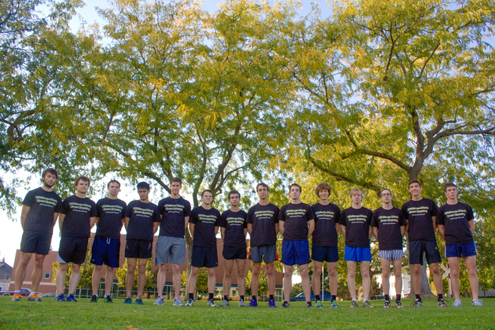 Whitman College Men's Cross Country T-Shirt Photo