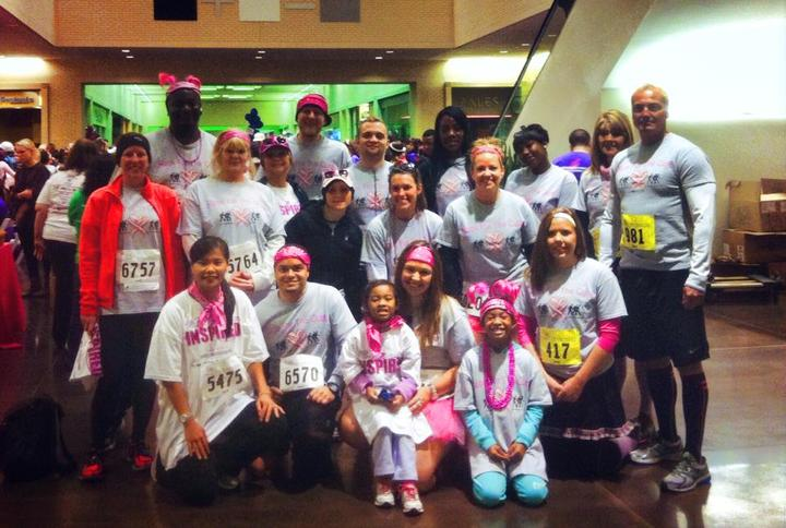 Race For The Cure Dallas T-Shirt Photo