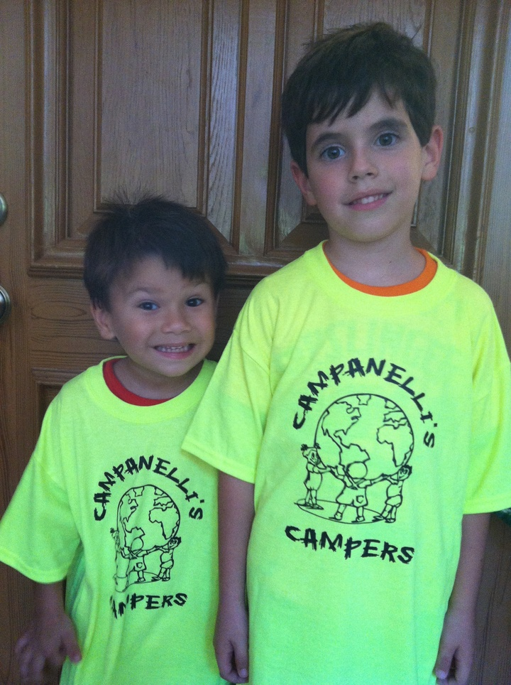 Happy Campers T-Shirt Photo