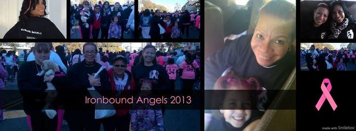 Ironbound  Angels @ Making Strides Newark 2013 T-Shirt Photo