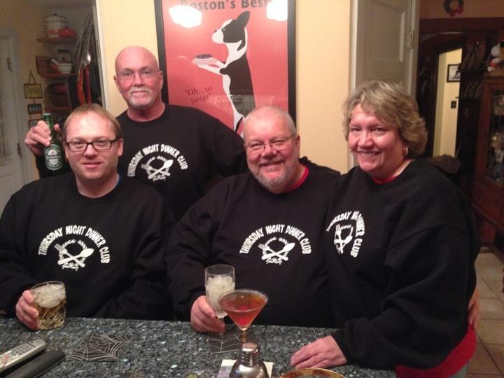 Thursday Night Dinner Club T-Shirt Photo