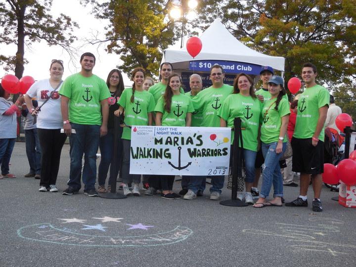 Maria's Walking Warriors T-Shirt Photo