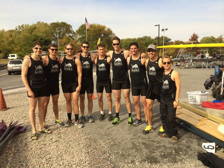 North Adams Rowing Club At The 2013 Head Of The Charles T-Shirt Photo