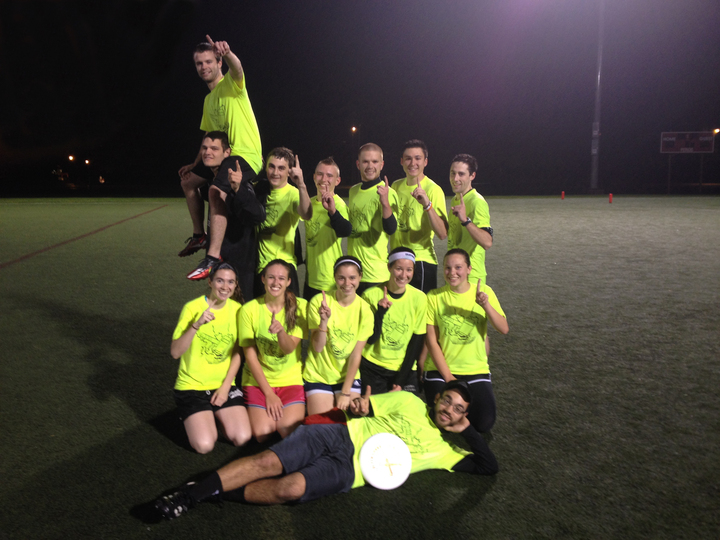 2013 Ultimate Frisbee Champs! T-Shirt Photo