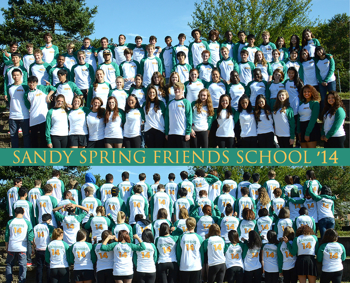 Ssfs Seniors Class Of 2014 T-Shirt Photo