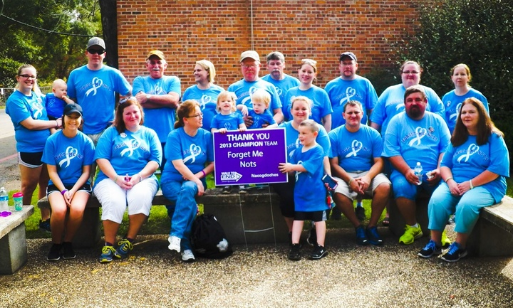 Alzheimer's Walk T-Shirt Photo