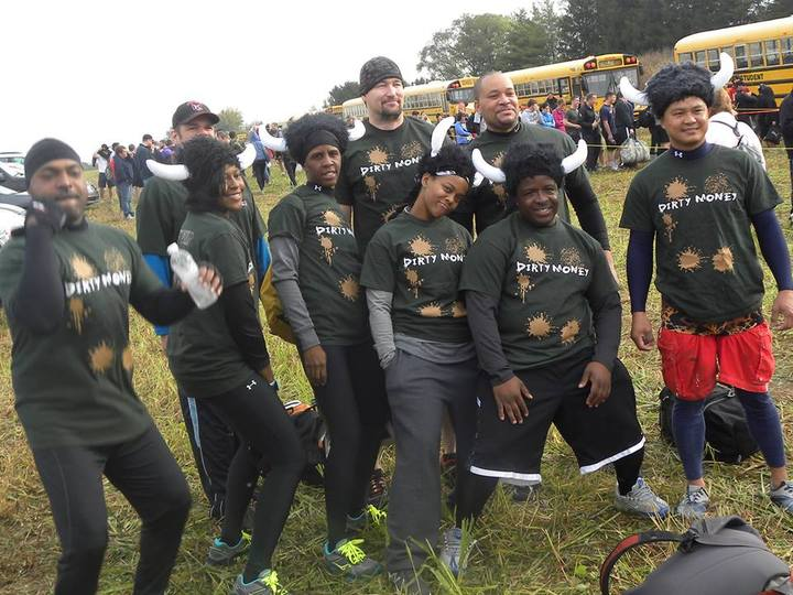 Dirty Money At Tough Mudder T-Shirt Photo