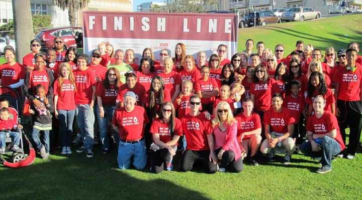 Hemophilia Walk 2013 T-Shirt Photo