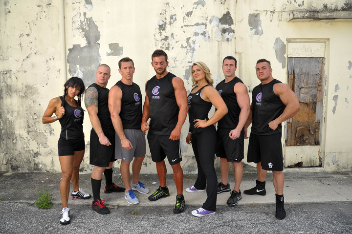 Choice Nutrition Fitness Models T-Shirt Photo