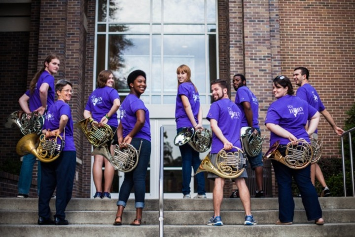 East Carolina University Horn Studio T-Shirt Photo