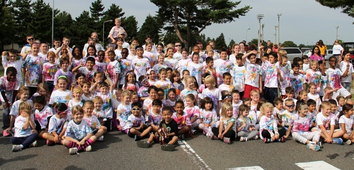 Color Me Run T-Shirt Photo